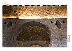 Vaulted Brick Arches Carry-all Pouch by Lynn Palmer