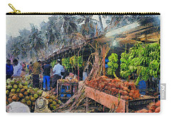 Vegetable Sellers Carry-all Pouch