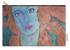 Carry-all Pouch featuring the painting Venus's Haze by Lucia Grilletto