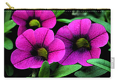Vibrant Pink Carry-all Pouch by Karen Harrison