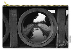 Carry-all Pouch featuring the photograph View From The Bridge by Nina Prommer