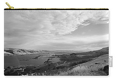 Carry-all Pouch featuring the photograph View From The Hill Columbia River by Kathleen Grace