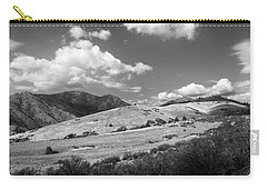 Carry-all Pouch featuring the photograph View Into The Mountains by Kathleen Grace