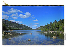 Carry-all Pouch featuring the photograph View Of Jordan Pond by Lynda Lehmann