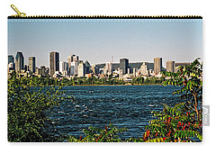 Carry-all Pouch featuring the photograph Ville De Montreal by Juergen Weiss
