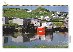 Carry-all Pouch featuring the photograph Villiage by Lydia Holly