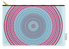 Vintage Color Circle Carry-all Pouch