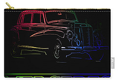 Carry-all Pouch featuring the photograph Vintage Mercedes by George Pedro