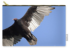 Carry-all Pouch featuring the photograph Vulture by Jeannette Hunt