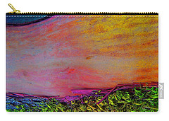 Carry-all Pouch featuring the digital art Walk Into The Future by Richard Laeton