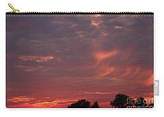 Warwickshire Sunset Carry-all Pouch by Linsey Williams