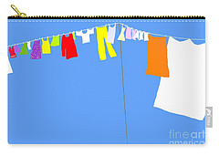Washing Line Simplified Edition Carry-all Pouch by Barbara Moignard