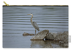 Carry-all Pouch featuring the photograph Watchful by Eunice Gibb