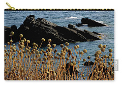 Carry-all Pouch featuring the photograph Watching The Sea 1 by Pedro Cardona