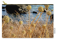 Carry-all Pouch featuring the photograph Watching The Sea 2 by Pedro Cardona