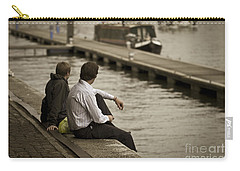 Watching The World Go By Carry-all Pouch by Clare Bambers