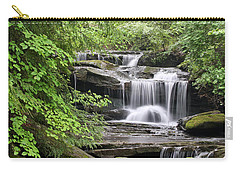 Waterfall Near Mabbitt Spring Carry-all Pouch