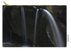 Carry-all Pouch featuring the photograph Waterfall On Emory Gap Branch by Daniel Reed