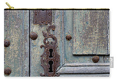 Carry-all Pouch featuring the photograph Weathered by Lainie Wrightson