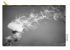 Carry-all Pouch featuring the photograph Weed In The Wind by Deniece Platt