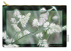 Carry-all Pouch featuring the photograph Weeds by EricaMaxine  Price