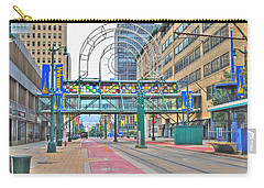 Carry-all Pouch featuring the photograph Welcome No 2 by Michael Frank Jr