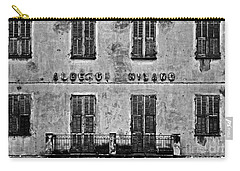 Carry-all Pouch featuring the photograph Welcome To The Hotel Milano by Andy Prendy