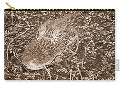 Welcome To The Swamp - Sepia Carry-all Pouch