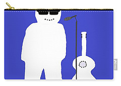 Welsh Snowman Musician Carry-all Pouch by Barbara Moignard