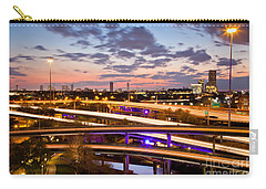 West Houston Around Dowtown Carry-all Pouch