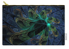 Carry-all Pouch featuring the digital art What Is Given Here by NirvanaBlues