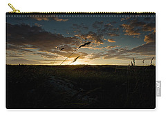 Wheat Fields  Carry-all Pouch by Beverly Cash