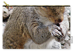Carry-all Pouch featuring the photograph Where Are The Peanuts by Rory Sagner