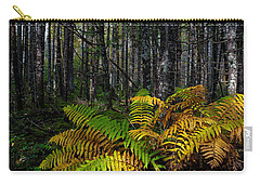 Where The Ferns Grow Carry-all Pouch by Ronald Lutz