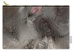 Carry-all Pouch featuring the digital art Whims Within by Casey Kotas