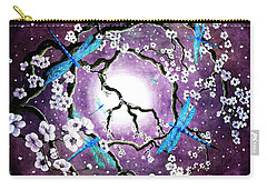 Whisper Of Peace Carry-all Pouch by Laura Iverson