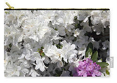 White Azalea Carry-all Pouch