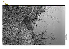 Carry-all Pouch featuring the photograph White Branch Riverside  by Kathleen Grace