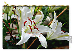 Mother's Day  Lilies  Carry-all Pouch