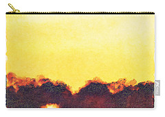 Carry-all Pouch featuring the photograph White Pelicans In Sun by Dan Friend