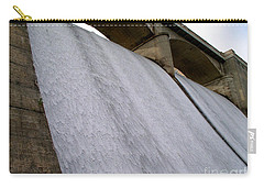 Carry-all Pouch featuring the photograph White Sheets Of Water by Mark Dodd