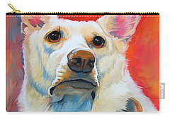 White Shepherd Carry-all Pouch