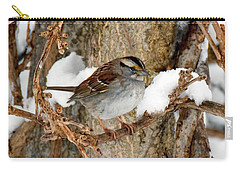 White Throat Carry-all Pouch