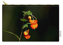 Carry-all Pouch featuring the photograph Wild Beauty by Ramabhadran Thirupattur