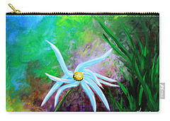Wild Daisy 2 Carry-all Pouch by Kume Bryant