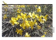 Wild Desert Flowers Carry-all Pouch by Kume Bryant