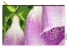 Carry-all Pouch featuring the photograph Wild Foxglove by Albert Seger