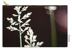 Carry-all Pouch featuring the photograph Wild Grass by Andy Prendy