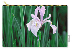 Carry-all Pouch featuring the photograph Wild Iris by Doug Herr