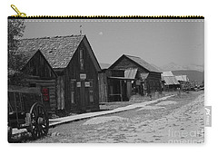 Carry-all Pouch featuring the photograph Wild Wild West by Deniece Platt